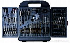 100 pcs Combination Drill & Bit Set