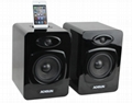 5inch Active Bookshelf Speaker for iPod/iPhone   HF-2005A