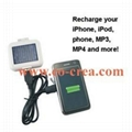 FM Transmitter + Solar Charger for iPhone/ipod/Cellphones