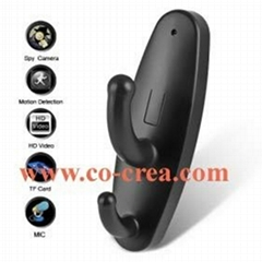 HD Clothes Hook Style Surveillance DVR with Motion Detection