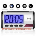 Digital Alarm Clock with Hidden Camera + Motion Sensor