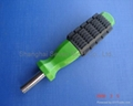 spanner-plastic injection molding wrench with iron insert