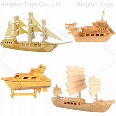 3d wooden puzzle boat co