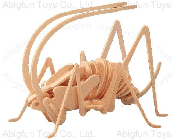 wood craft model Cricket construction toy - China - Manufacturer -