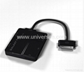 "USB OTG Connection Kit Card Reader For Samsung Galaxy P7510 P7500 10.1"" Tab"