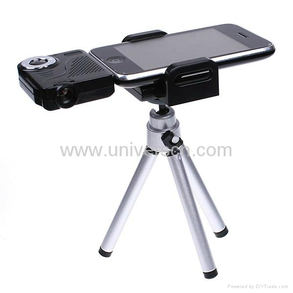 Pocket sized mini projector for iphone and ipod hld008 for Iphone projector portable