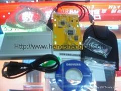 """2.5"""" USB 2.0 FireWire 400 HDD Enclosure"""