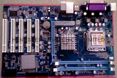 Intel G31 5PCI DVR Desktop Motherboard