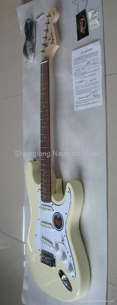 fender stratocaster wallpaper. White fender stratocaster with gold pickguard