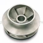 precision cast part by lost wax investment casting process -impeller
