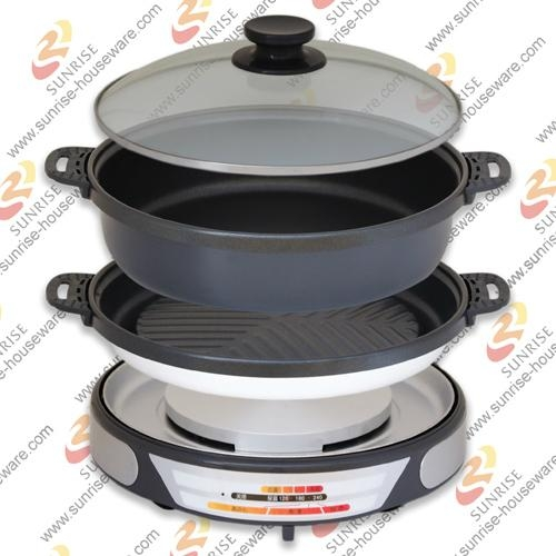 Electric Grill Pan 1