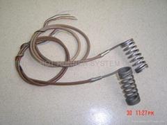 Nozzles heater