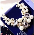 fashion beaded pearl necklace 1