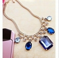fashion gold necklace