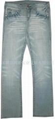 JLH-09008#Elasticity jeans