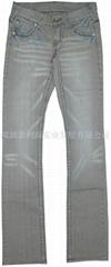 JLH-09007#Elasticity jeans