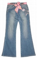 Embroidered Lycra Jeans-03