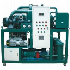 Double-Stage Vacuum Transformer Oil Recycling Machine
