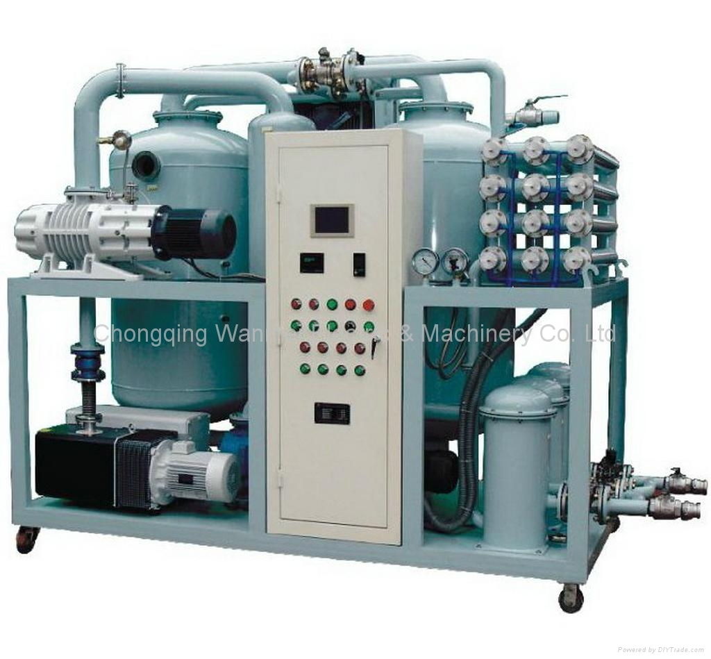 Double-Stage Vacuum Transformer Oil Recycling Machine 3