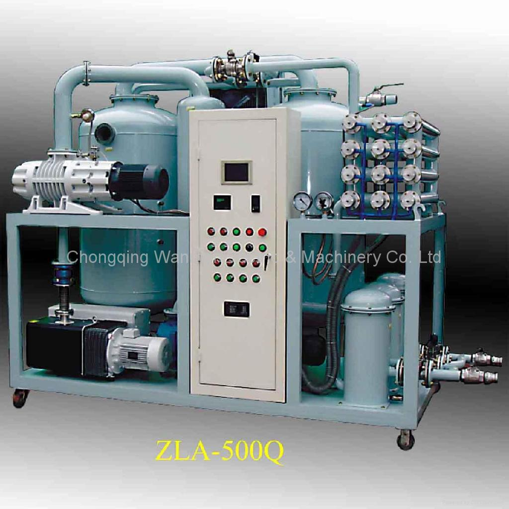 Double-Stage High Efficiency Vacuum Transformer Oil Purifier 4