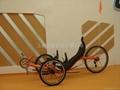 3轮斜躺自行车