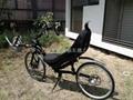 2轮折叠斜躺自行车