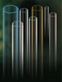 UV STOP Quartz Glass Tube 1