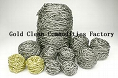 Stainless Steel Scourer,Copper Scourer,Steel Wool Scrubber,Galvanized Scourer