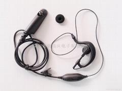 建伍对讲机耳机
