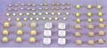 300W LED大功率发光二极管 5