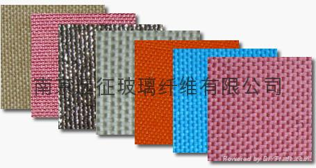 Silicone Rubber Coated Fiberglass Fabric 4