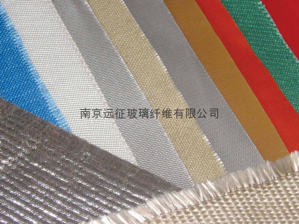 Silicone Rubber Coated Fiberglass Fabric 5