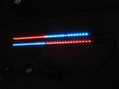 LED light under car