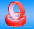 Red Powder Coating Masking Tape