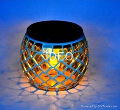 mosaic solar LED light