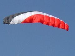 Quad-line parafoil kite Foil kite Surfing kite