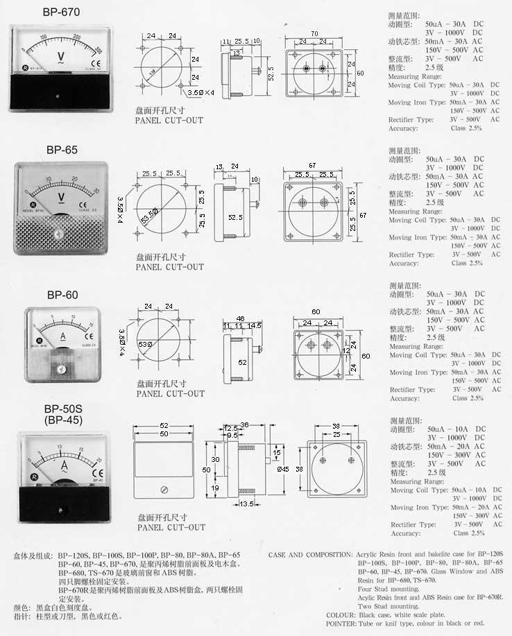 高低压开关柜仪表 1