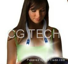 Goosenecks Hands-Free Flexible Neck LED Light Lamp Reading Flashlight