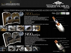 MAJESTYCABLES AUDIO CABLES