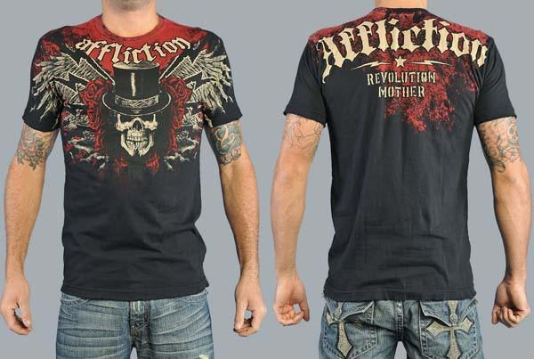Affliction t-shirts 2010 new