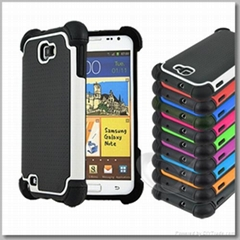 Hot selling defender case for Samsung S2 i9220 tpu and pc case