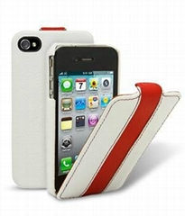 Protective leather case iphone 4 cases iphone 4gs case
