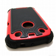 Wholesale triple defender case for blackberry  CURVE 9370, 9360, 9350