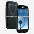 New, x line tpu case for samsung i9300, for galaxy s3 case (Hot Product - 1*)