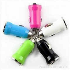 mini usb car charger for mobile phone, phone charger