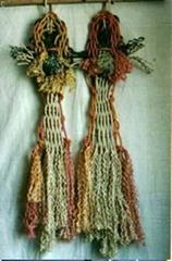 壁挂結繩(雙魚)