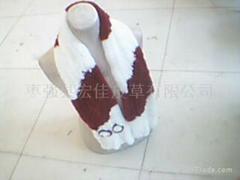 獺兔圍巾1