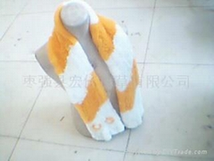 獺兔圍巾2