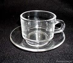 水晶玻璃咖啡杯套装玻璃礼物