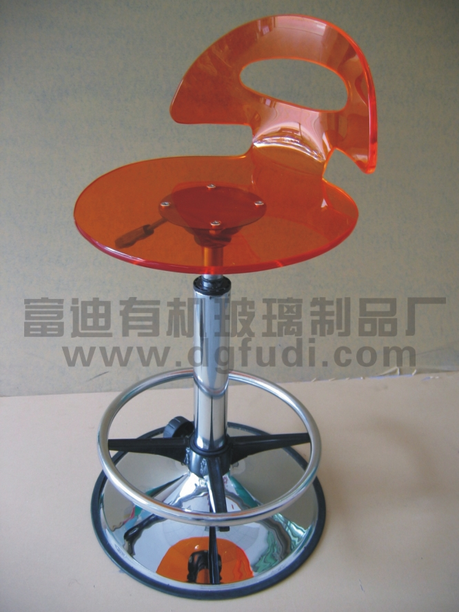 有機玻璃椅 1